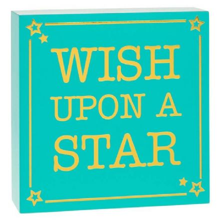 Square Small Plaque Star